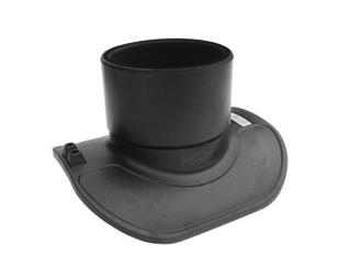 電焊套污水90°鞍座(連接PVC)