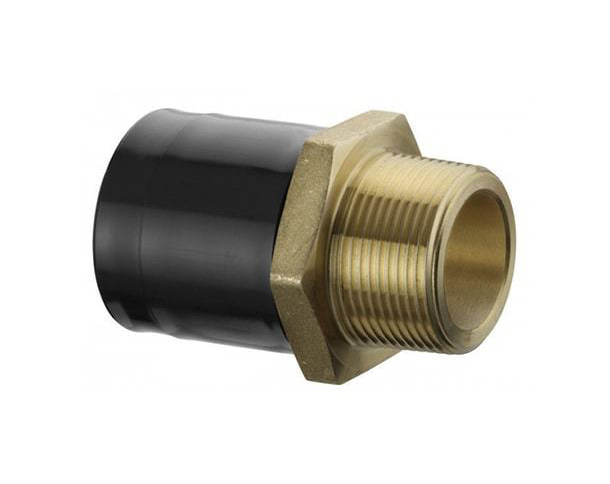 電焊套式-黃銅外牙轉接頭