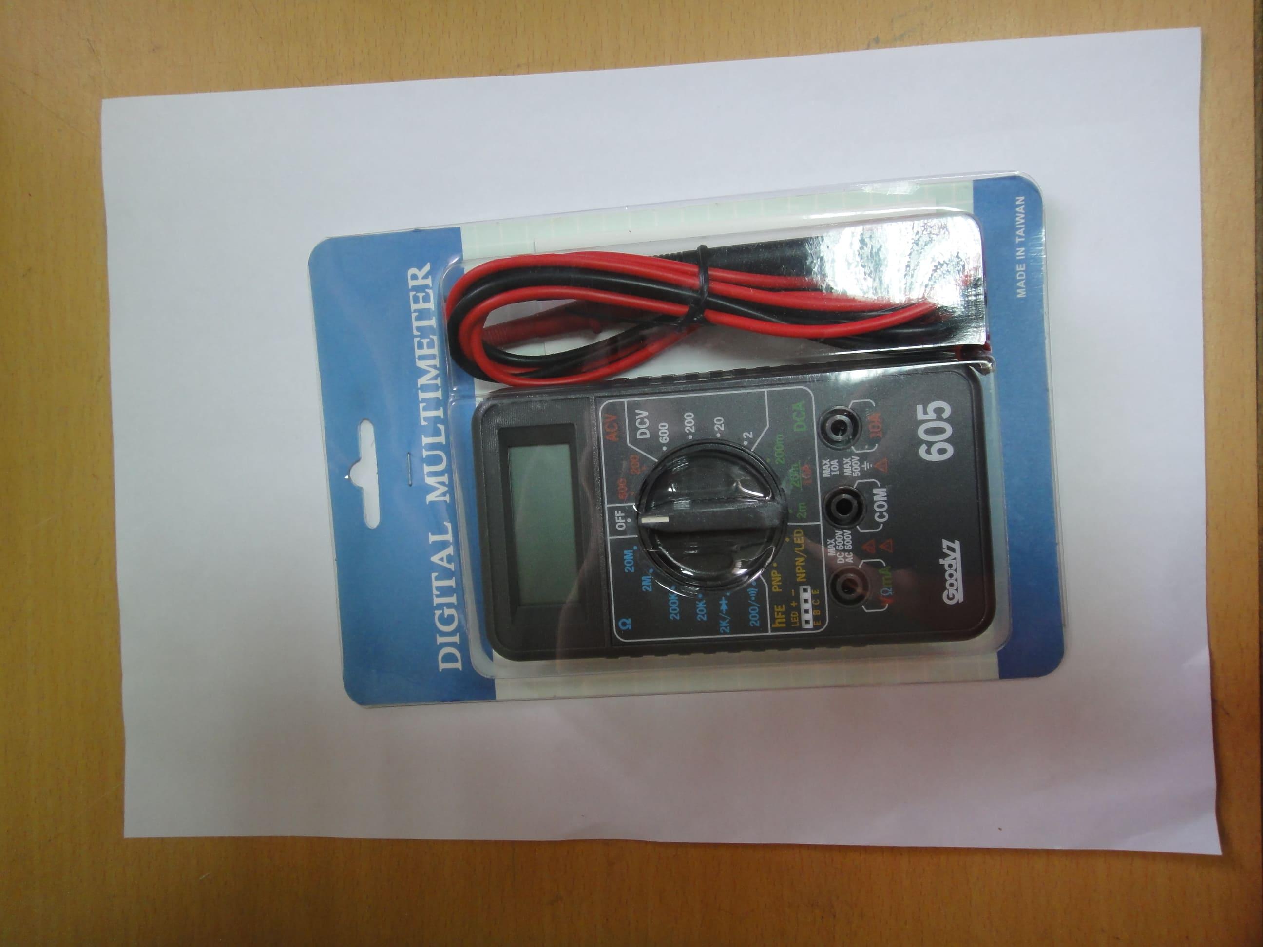 (HT430210)三用電錶DM605