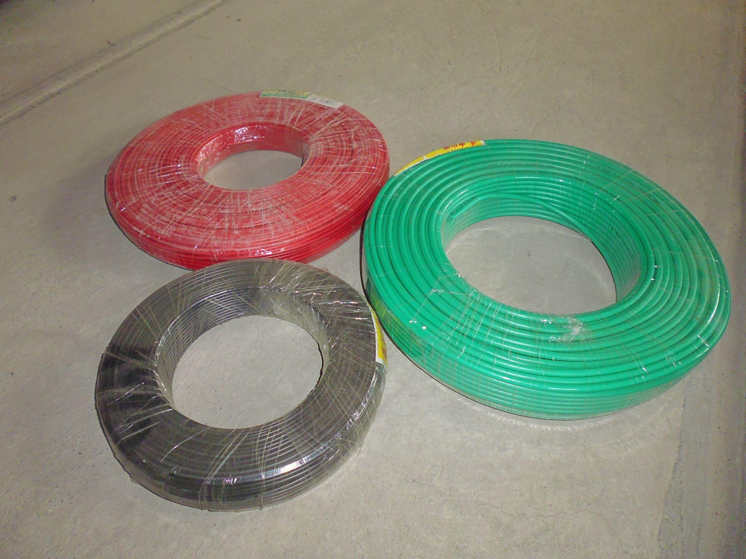 (HL011080)PVC電線(附皮)
