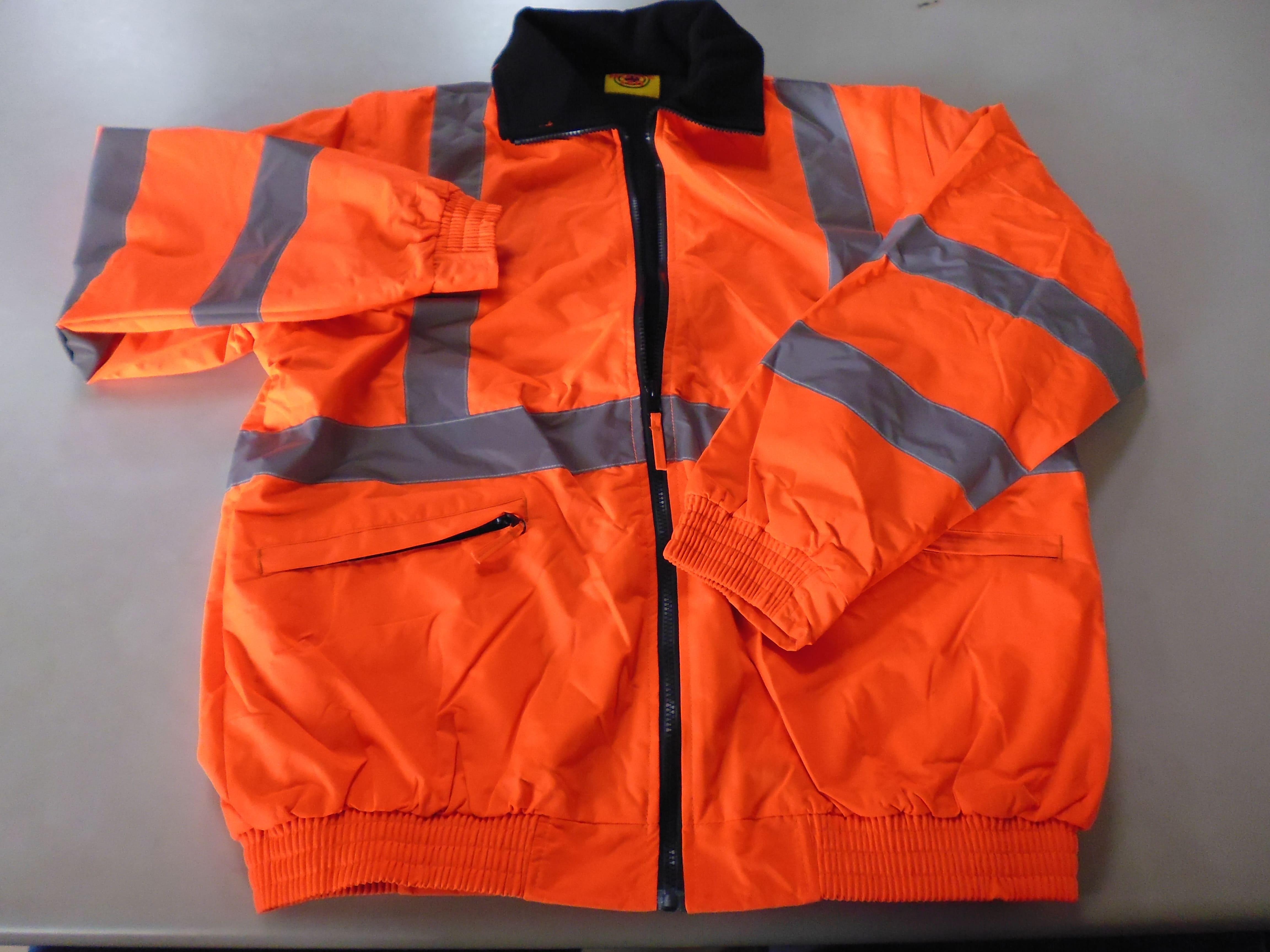 (HS031115)保暖型反光外套