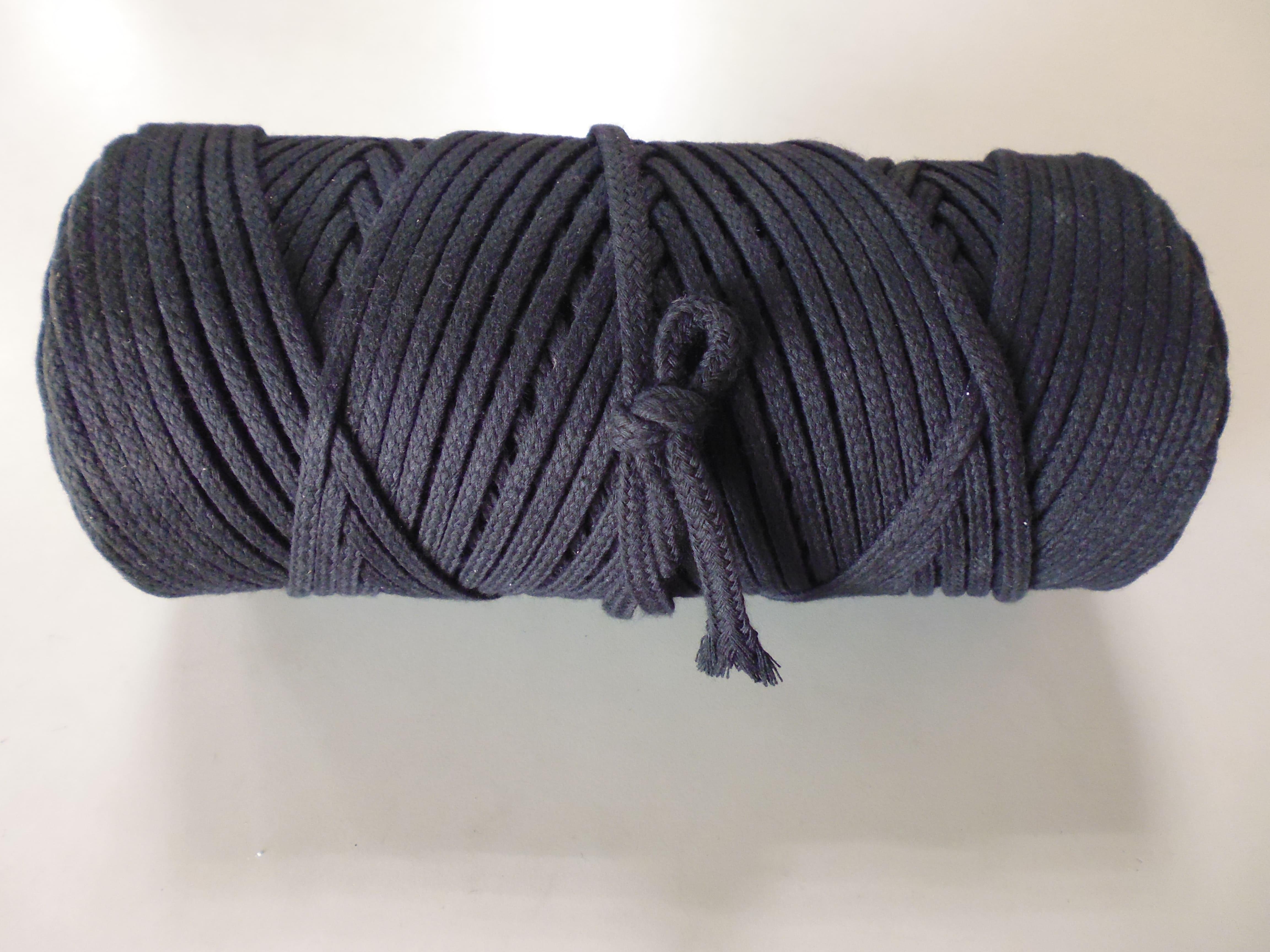 (HI201020)電纜綁博繩 黑棉